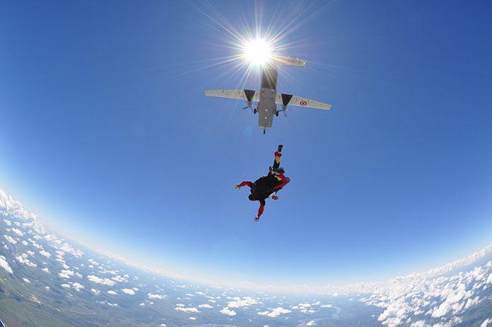 Spełnione marzenie czyli skok ze spadochronem